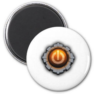 Immortal Machines Icon 2 Inch Round Magnet