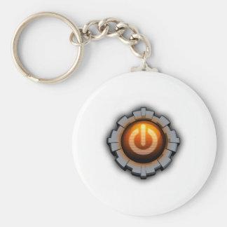 Immortal Machines Icon Basic Round Button Keychain