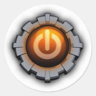 Immortal Machines Icon Classic Round Sticker