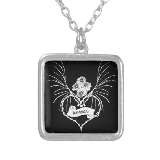 Immortal Silver Plated Necklace