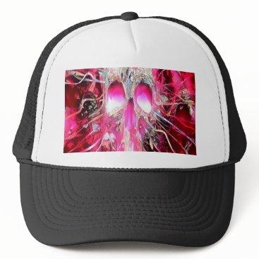 Halloween Themed Immortal Skull Trucker Hat