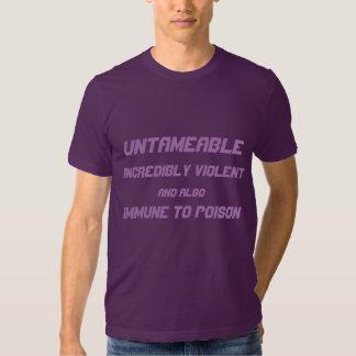 Immune To Poison Tee Shirt