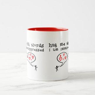Immuno-suppressed Two-Tone Coffee Mug