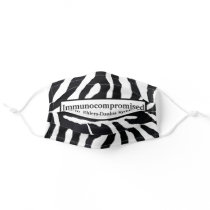 Immunocompromised EDS Ehlers-danlos syndrome Adult Cloth Face Mask