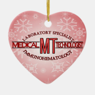 IMMUNOHEMATOLOGY SPECIALIST MT MEDICAL TECHNOLOGIS CERAMIC ORNAMENT