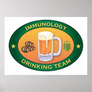 Immunology Drinking Team Print