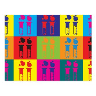 Immunology Pop Art Postcard