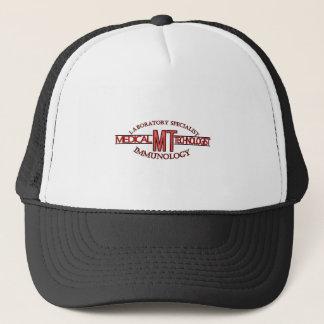 IMMUNOLOGY SPECIALIST MT MEDICAL TECHNOLOGIST TRUCKER HAT