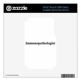 Immunopathologist Skins For iPod Touch 4G