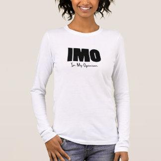 IMO black Long Sleeve T-Shirt
