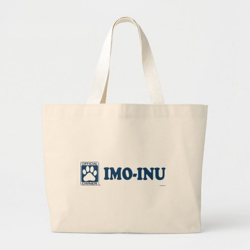 Imo-Inu Blue Canvas Bag