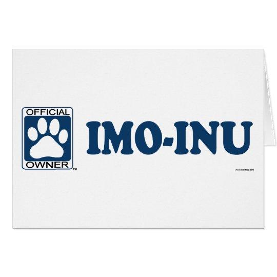 Imo-Inu Blue Card