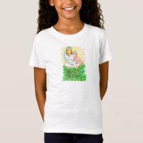 Imogene Christmas Angel Piglet JL Biel T-Shirt