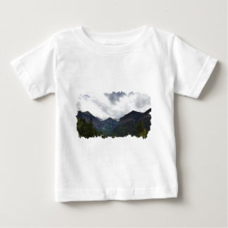 Imogene Pass View of Bridal Veil Falls Baby T-Shirt