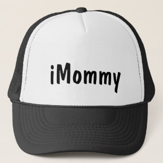 iMommy black white mother's day new mom hat