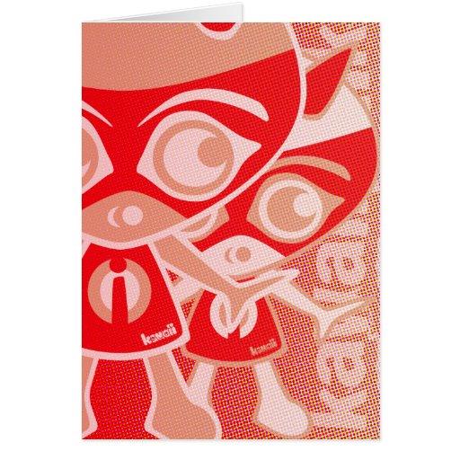 Imp Mascot Cards