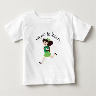 Impaciente aprender t-shirts