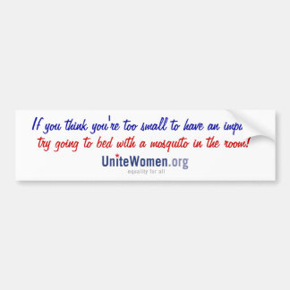 Impact Bumper Sticker Car Bumper Sticker