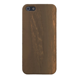 Impact crater Endurance on the surface of Mars iPhone SE/5/5s Case