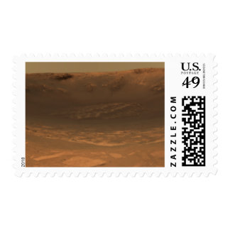 Impact crater Endurance on the surface of Mars Postage