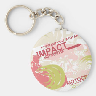 Impact Motocross Tshirts and Gifts Keychain