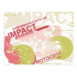 Impact Motocross Tshirts and Gifts Postcard