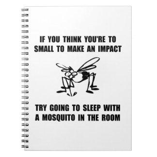 Impacto del mosquito libretas