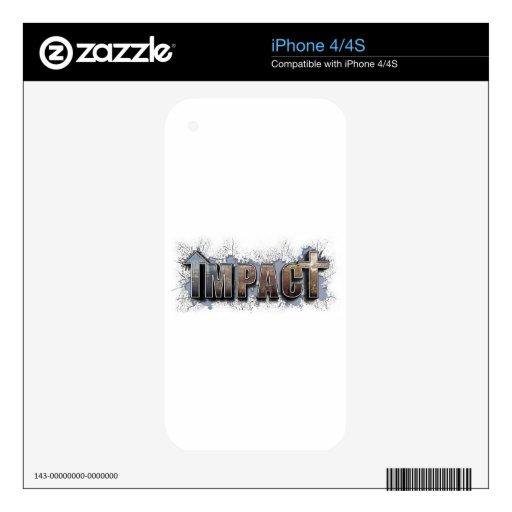 IMPACTO SKINS PARA eliPhone 4