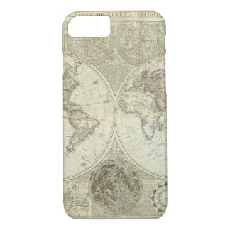 Impaired World Map 25 iPhone 7 Case