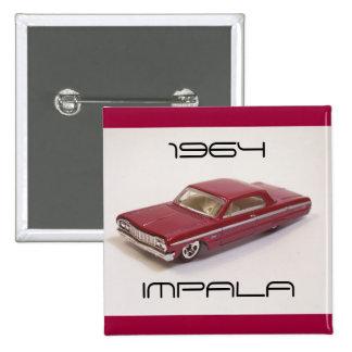 Impala 1964 pin cuadrado
