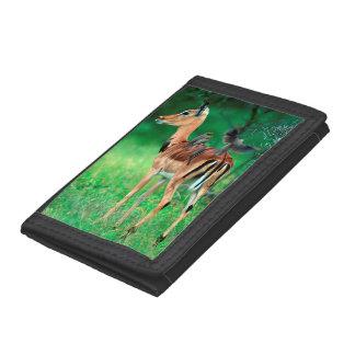 Impala (Aepyceros Melampus) Tri-fold Wallets