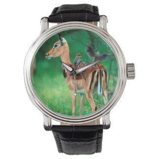 Impala (Aepyceros Melampus) Wrist Watch