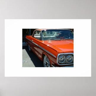 Impala bajo del jinete posters