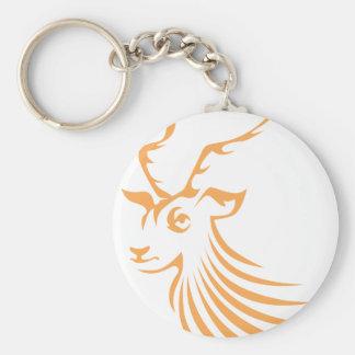 Impala in Swish Drawing Style Keychain