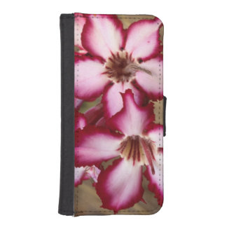 Impala Lily (Adenium Multiflorum), Kruger iPhone SE/5/5s Wallet