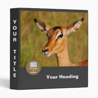 Impala safari binders, files, photo books binder
