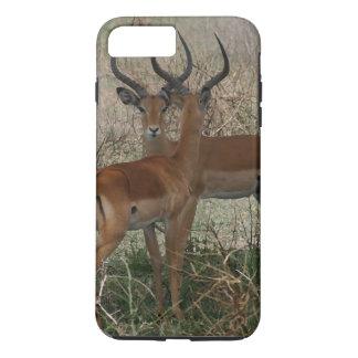Impalas on the Serengeti iPhone 7 Plus Case