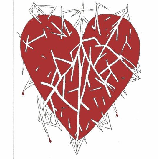 Impaled Heart Trinkets Statuette