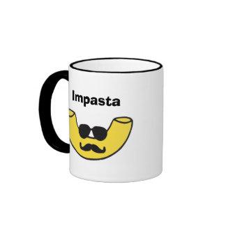Impasta Macaroni Noodle Ringer Coffee Mug