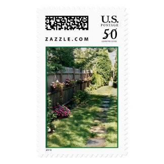Impatiens Pathway Stamp