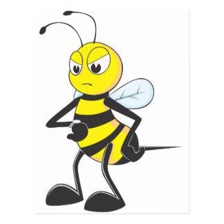 Impatient Bee Post Card