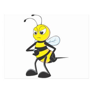 Impatient Bee Post Cards