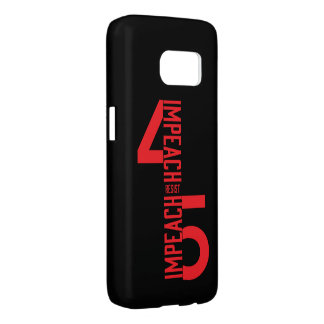 IMPEACH #45 RESIST SAMSUNG GALAXY S7 CASE