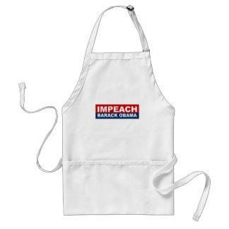 Impeach Barack Obama Adult Apron