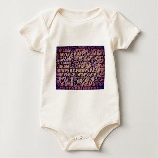 Impeach Barack Obama Baby Bodysuit