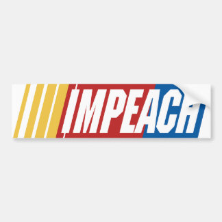 Impeach Barack Obama Bumper Sticker