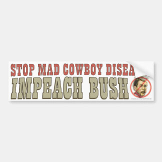Impeach Bush Bumper Sticker