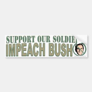 Impeach Bush Bumper Stickers
