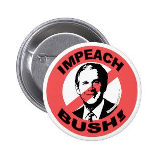 Impeach Bush Button
