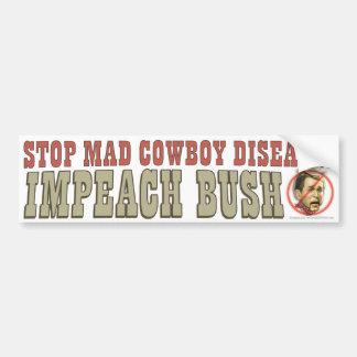 Impeach Bush Car Bumper Sticker